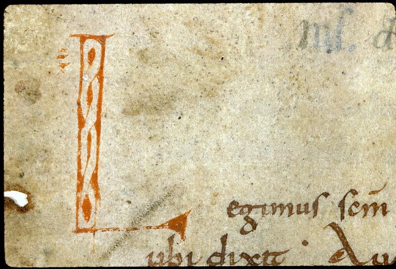 Angers, Bibl. mun., ms. 0281, f. 001 - vue 3