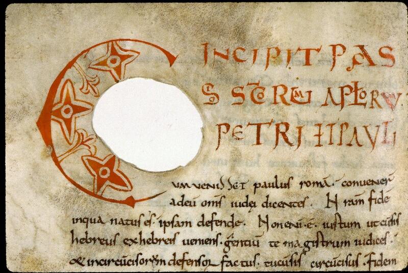 Angers, Bibl. mun., ms. 0281, f. 122v - vue 2