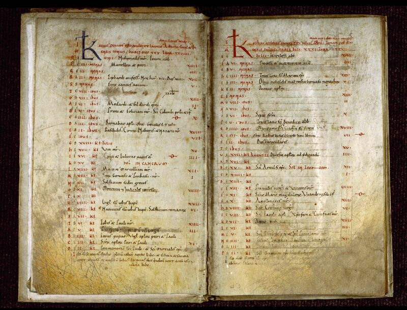 Angers, Bibl. mun., ms. 0283, p. 004-005