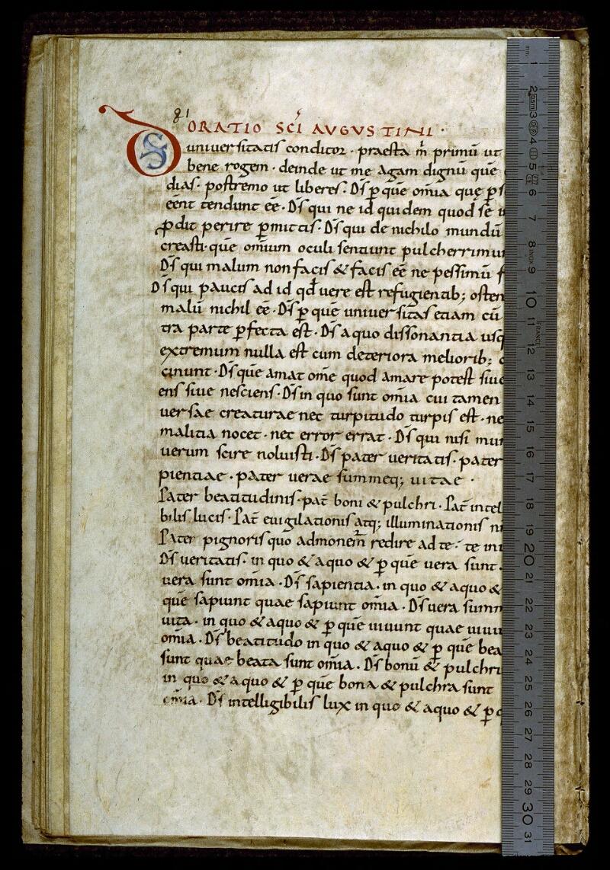 Angers, Bibl. mun., ms. 0283, p. 081 - vue 1