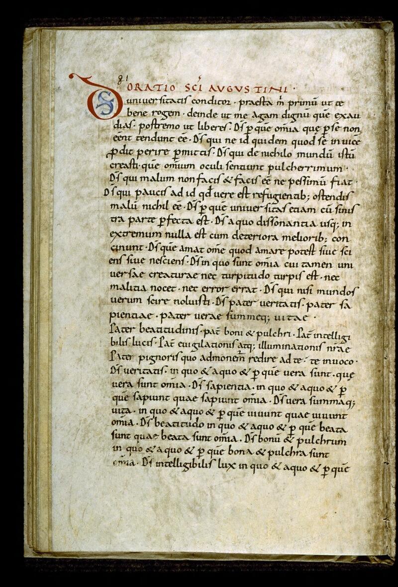 Angers, Bibl. mun., ms. 0283, p. 081 - vue 2