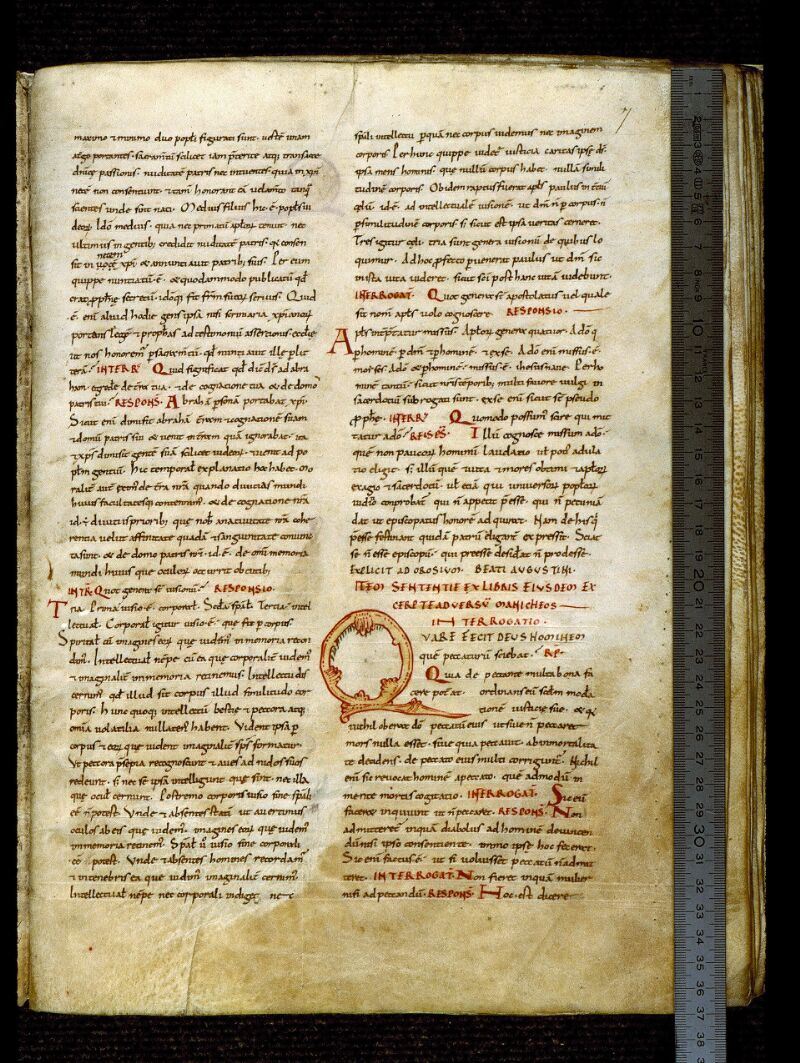 Angers, Bibl. mun., ms. 0284, f. 007 - vue 1