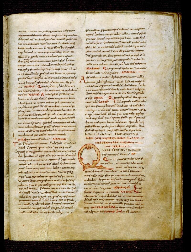 Angers, Bibl. mun., ms. 0284, f. 007 - vue 2