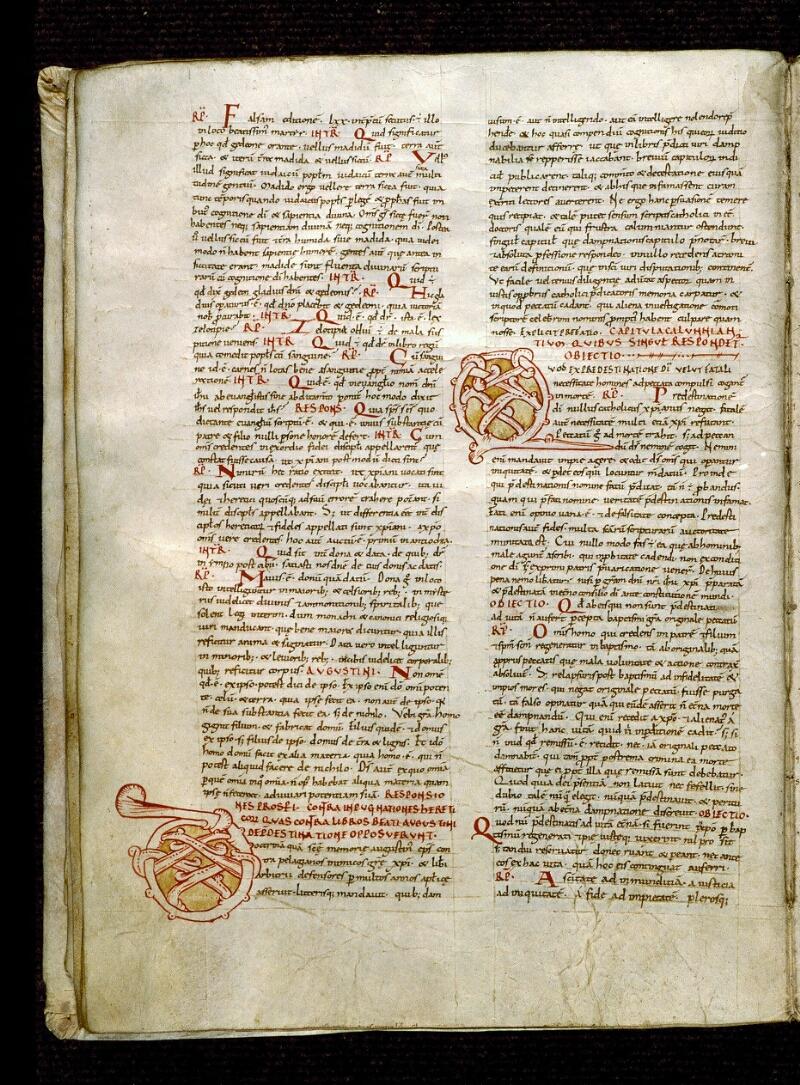 Angers, Bibl. mun., ms. 0284, f. 011v - vue 1