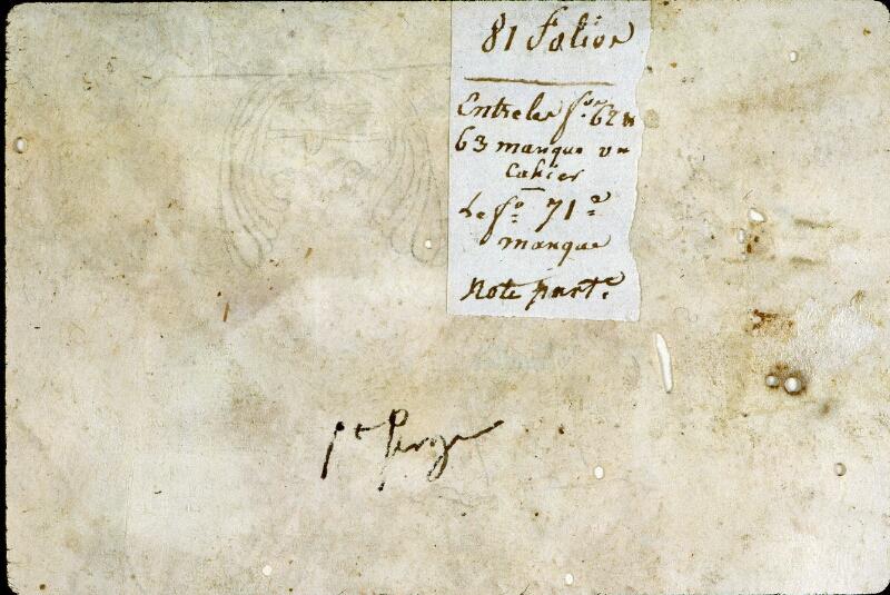 Angers, Bibl. mun., ms. 0285, f. 000I v