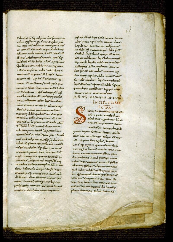 Angers, Bibl. mun., ms. 0285, f. 068 - vue 1