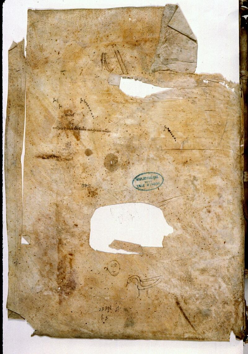 Angers, Bibl. mun., ms. 0285, f. 082v - vue 1