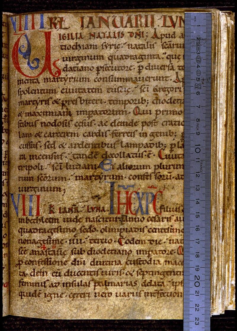 Angers, Bibl. mun., ms. 0288, f. 024 - vue 1