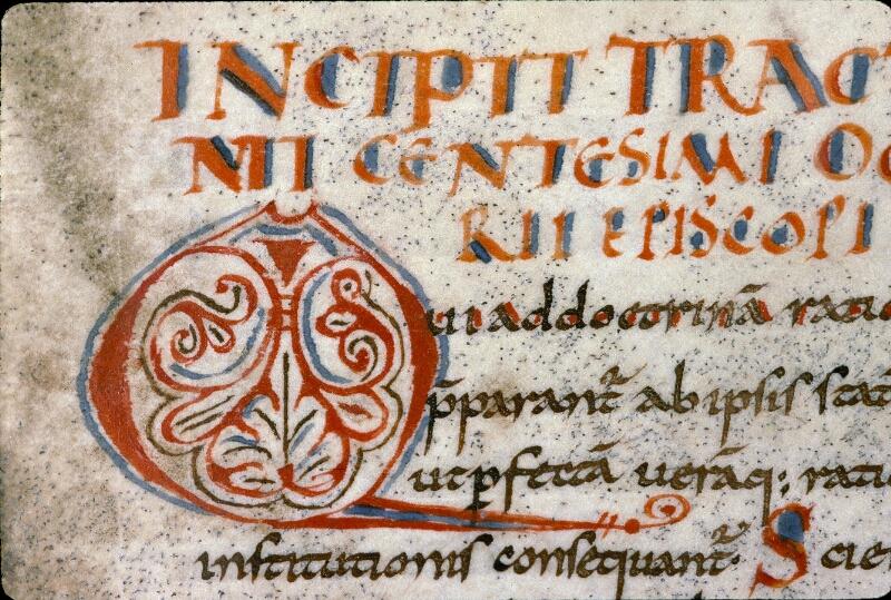 Angers, Bibl. mun., ms. 0289, f. 001 - vue 3
