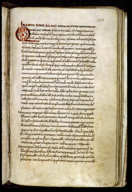 Angers, Bibl. mun., ms. 0289, f. 104 - vue 1