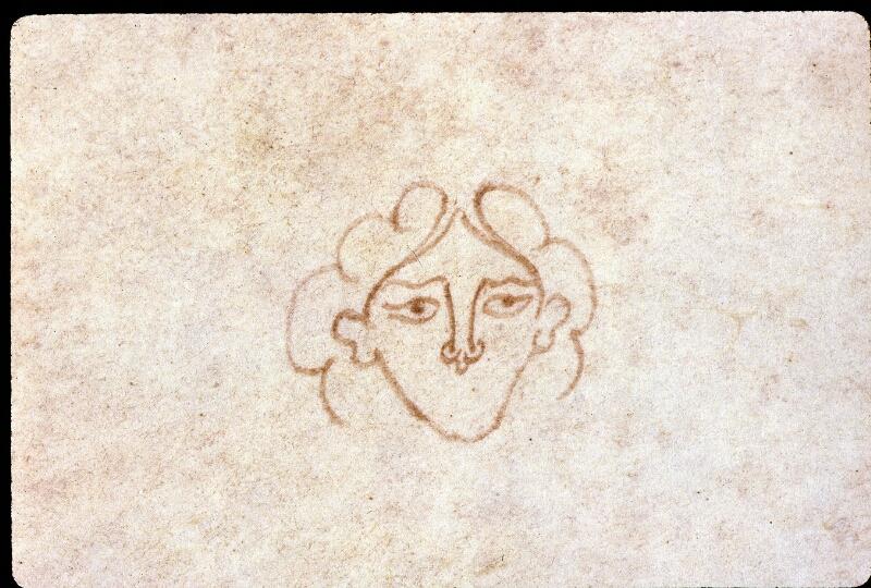 Angers, Bibl. mun., ms. 0289, contre-plat inf. - vue 2