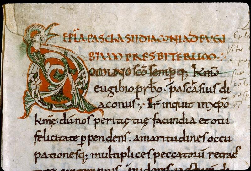 Angers, Bibl. mun., ms. 0290, f. 096 - vue 2