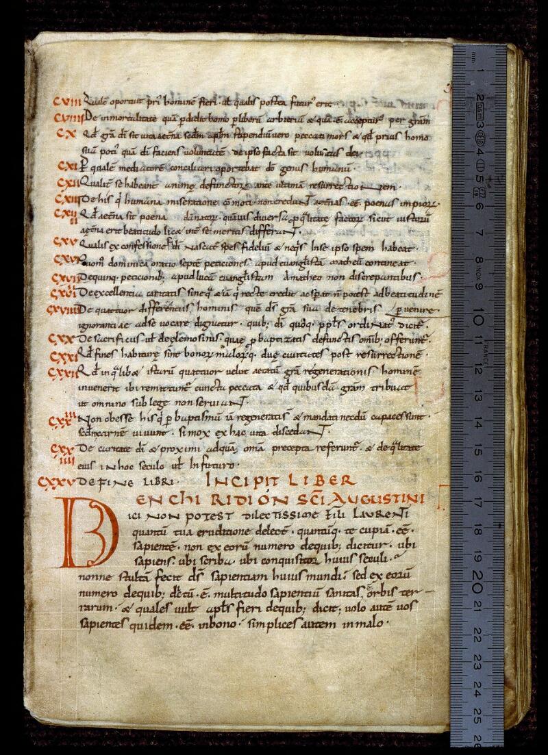 Angers, Bibl. mun., ms. 0291, f. 003 - vue 1