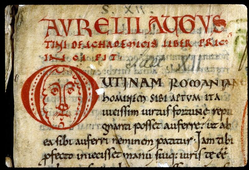 Angers, Bibl. mun., ms. 0292, f. 001 - vue 3