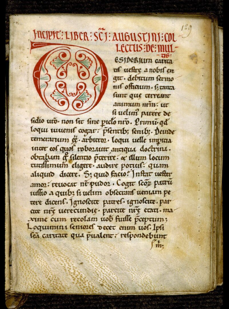 Angers, Bibl. mun., ms. 0294, f. 129