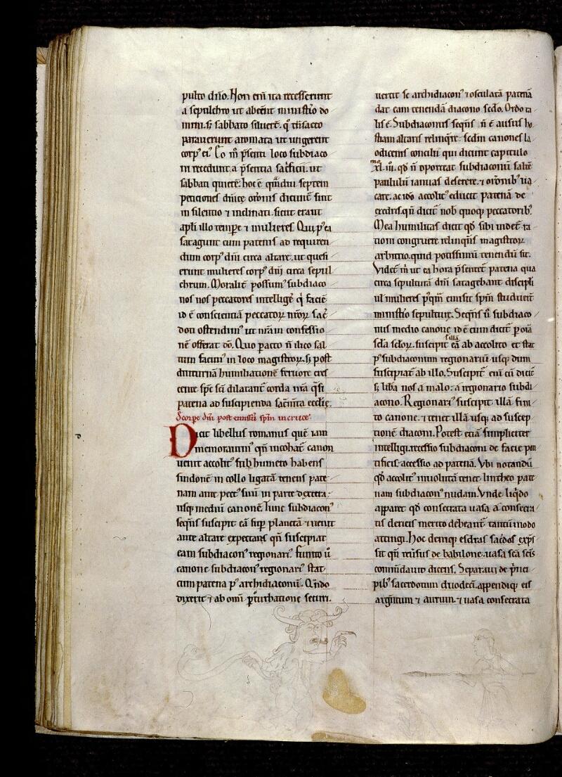 Angers, Bibl. mun., ms. 0300, A f. 072v - vue 1