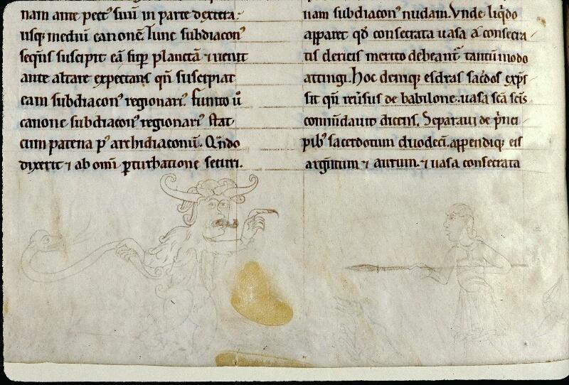Angers, Bibl. mun., ms. 0300, A f. 072v - vue 2