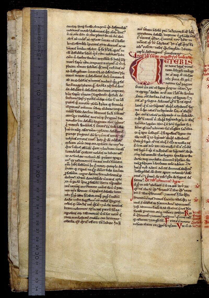 Angers, Bibl. mun., ms. 0310, f. 002v - vue 1