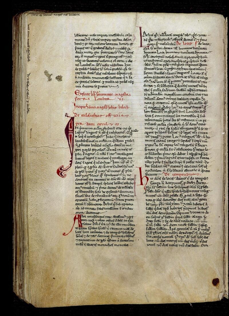 Angers, Bibl. mun., ms. 0310, f. 152v - vue 1