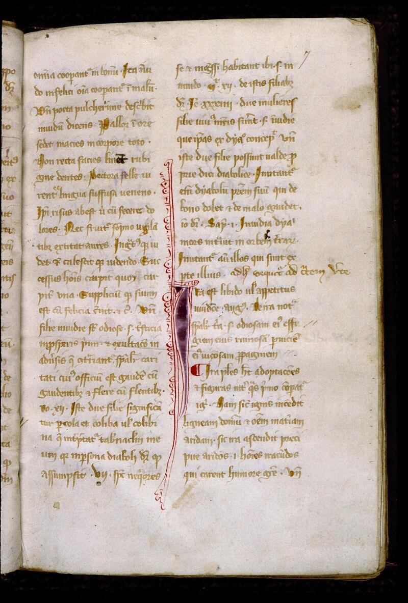 Angers, Bibl. mun., ms. 0313, f. 007 - vue 2