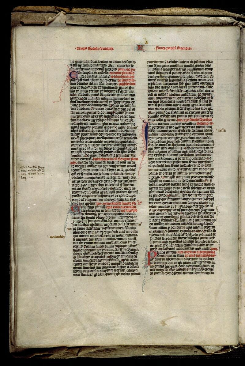 Angers, Bibl. mun., ms. 0315, f. 020v - vue 2