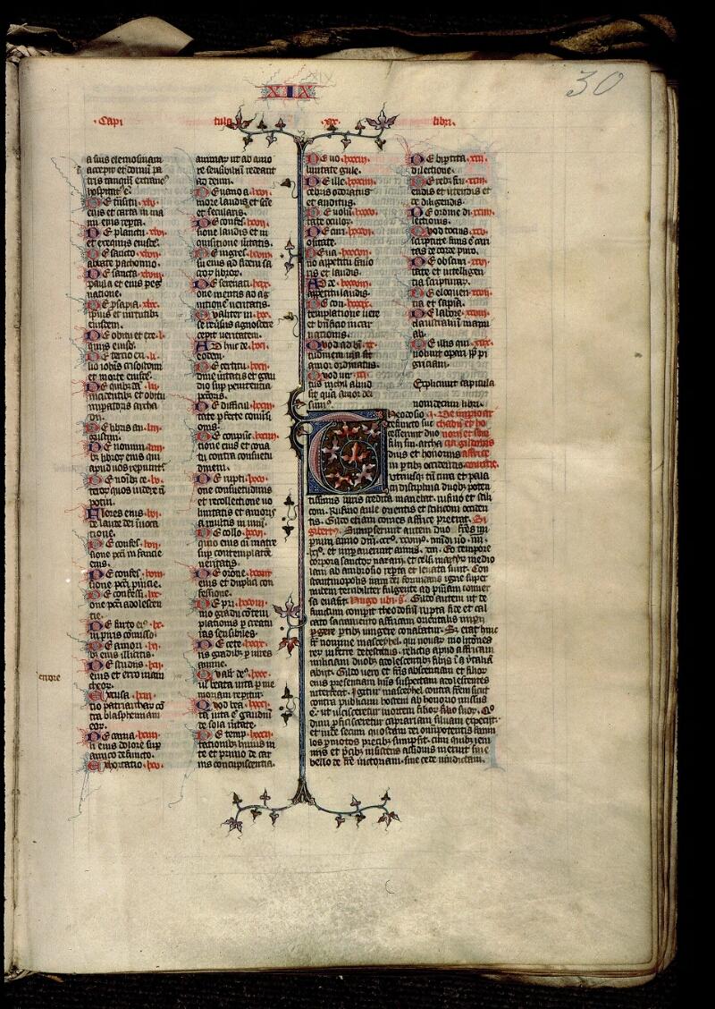 Angers, Bibl. mun., ms. 0315, f. 030 - vue 1