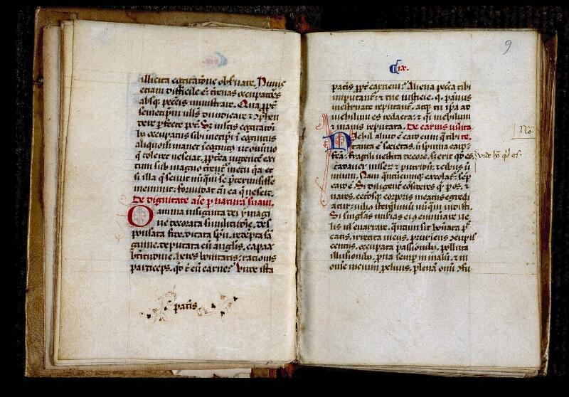 Angers, Bibl. mun., ms. 0317, f. 008v-009