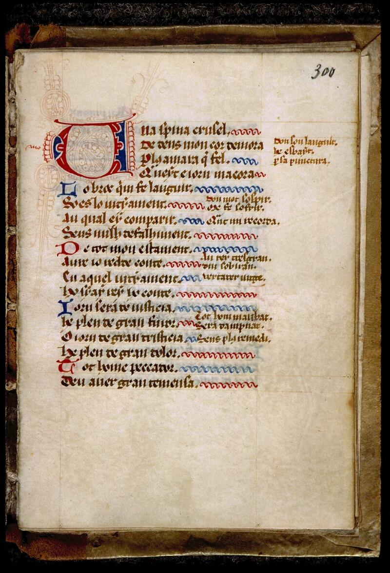 Angers, Bibl. mun., ms. 0317, f. 300