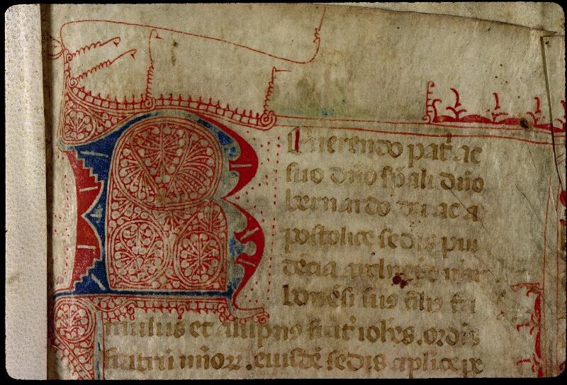 Angers, Bibl. mun., ms. 0318, f. 001 - vue 3