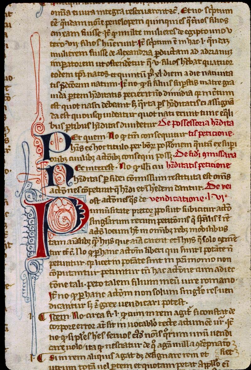 Angers, Bibl. mun., ms. 0329, f. 009 bis