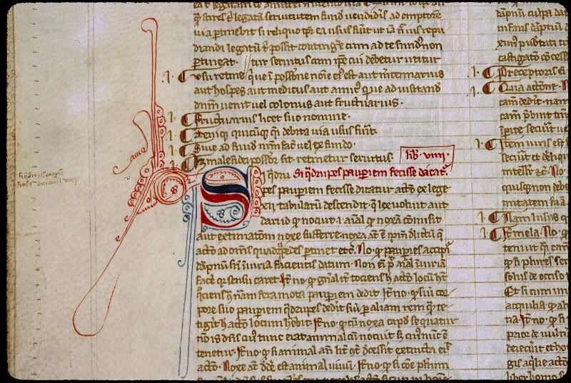 Angers, Bibl. mun., ms. 0329, f. 011v - vue 2