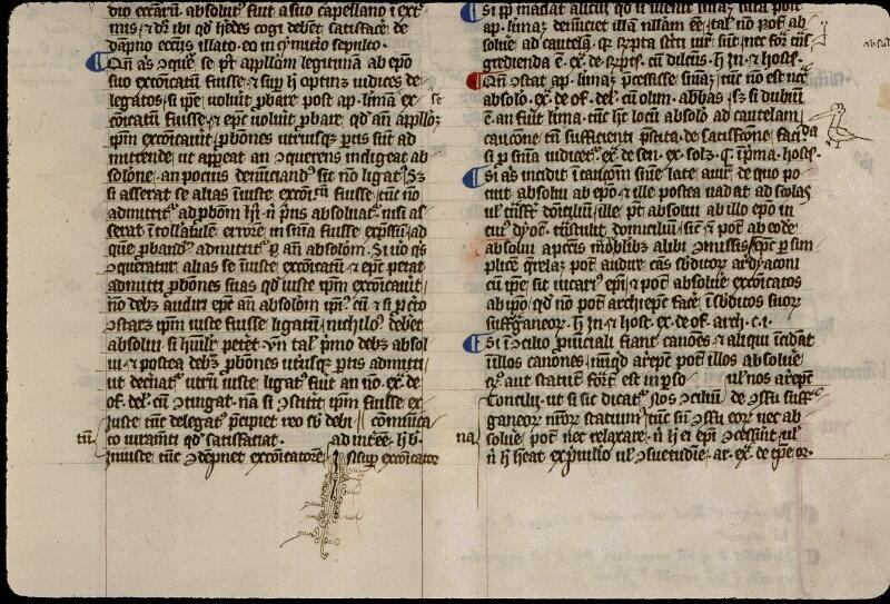 Angers, Bibl. mun., ms. 0330, f. 008 - vue 2