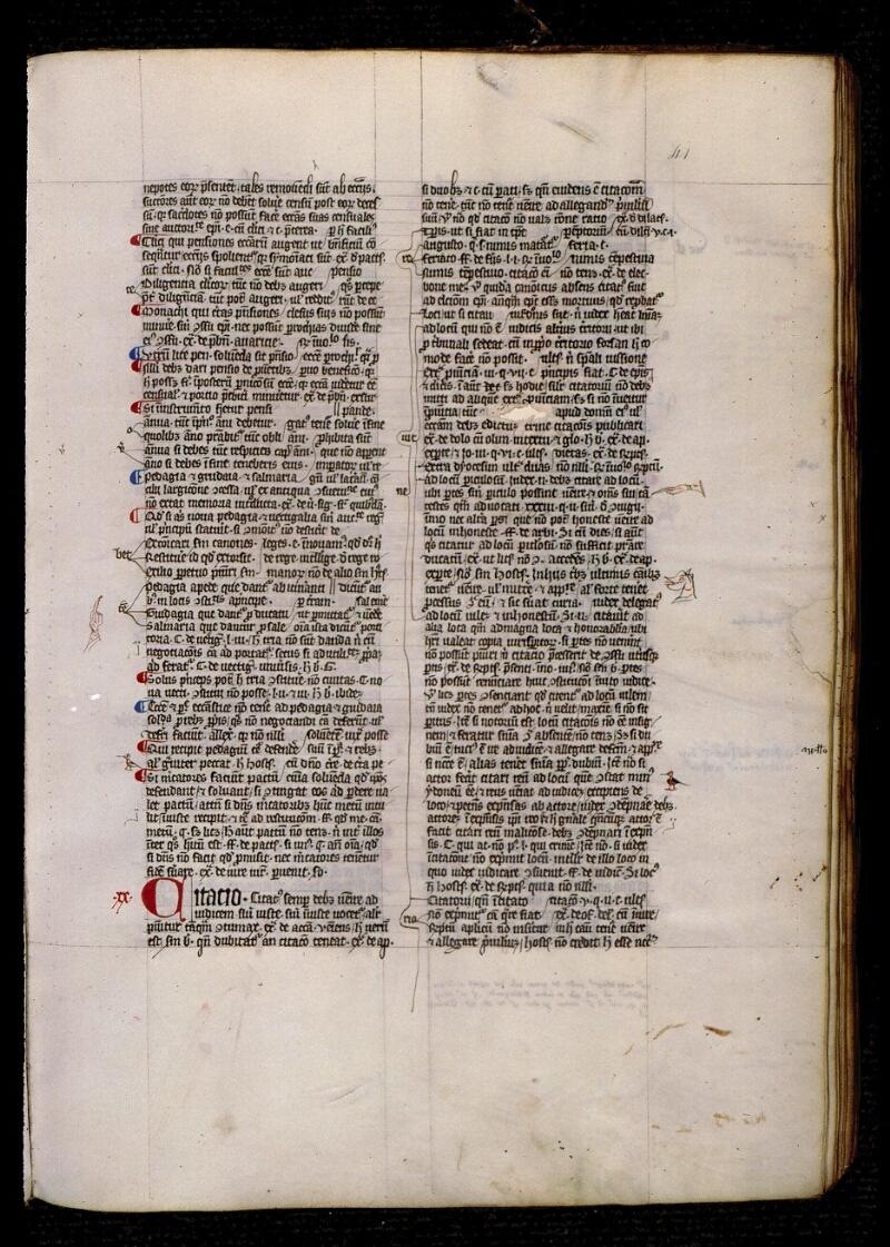 Angers, Bibl. mun., ms. 0330, f. 041 - vue 1