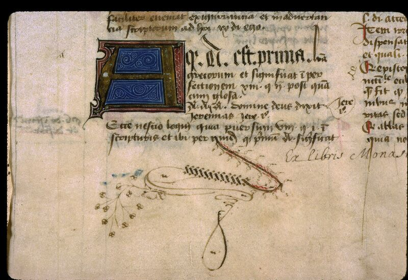 Angers, Bibl. mun., ms. 0331, f. 001 - vue 4