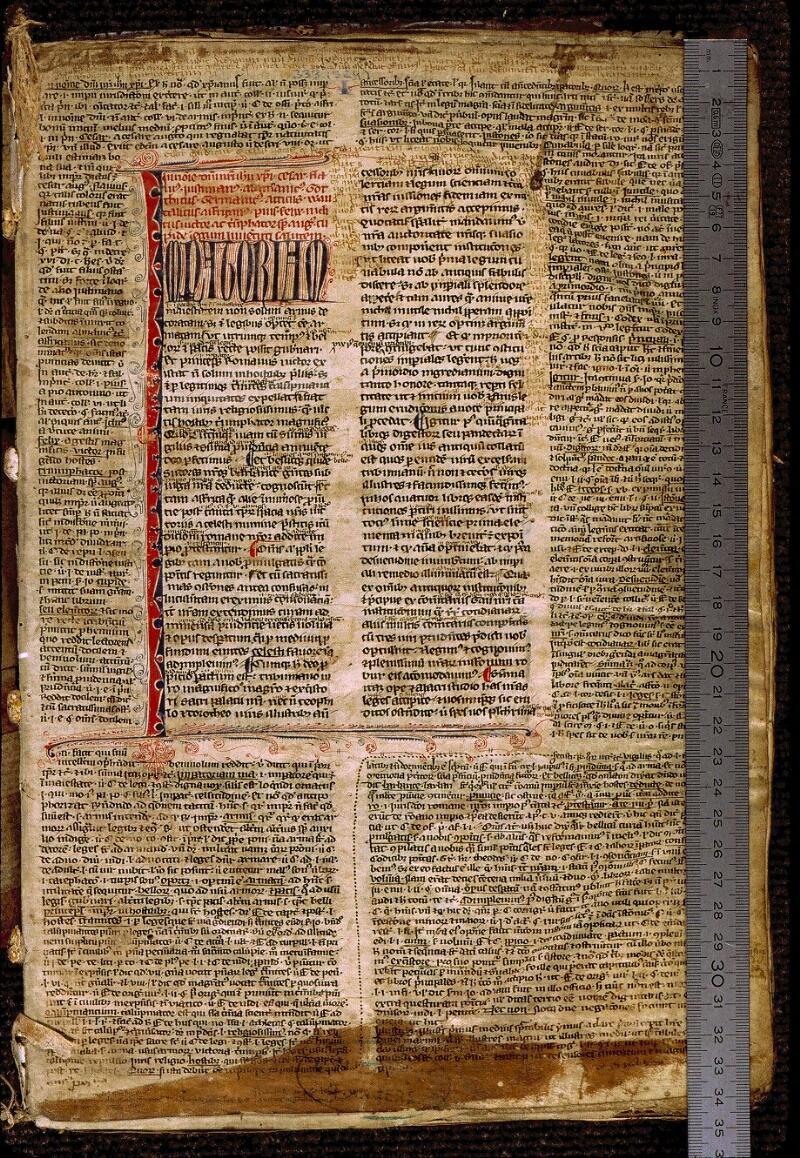 Angers, Bibl. mun., ms. 0333, f. 001 - vue 1