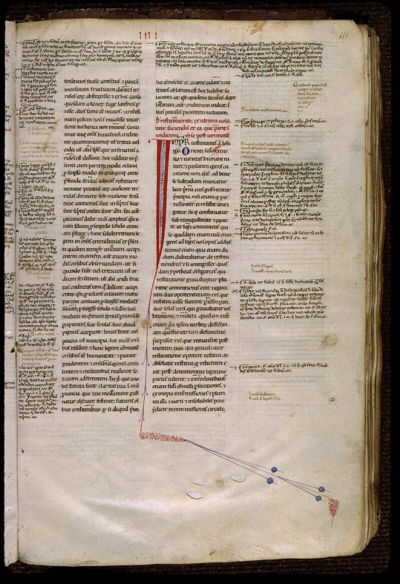 Angers, Bibl. mun., ms. 0333, f. 111 - vue 1