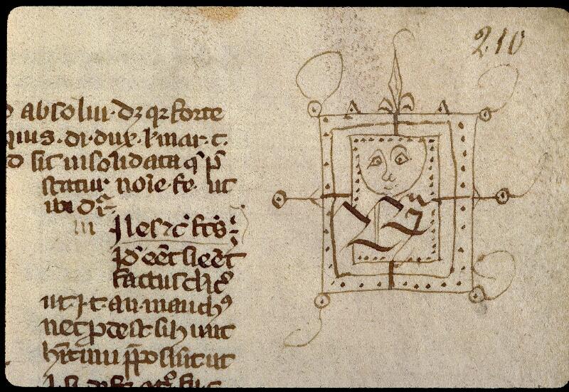 Angers, Bibl. mun., ms. 0333, f. 210