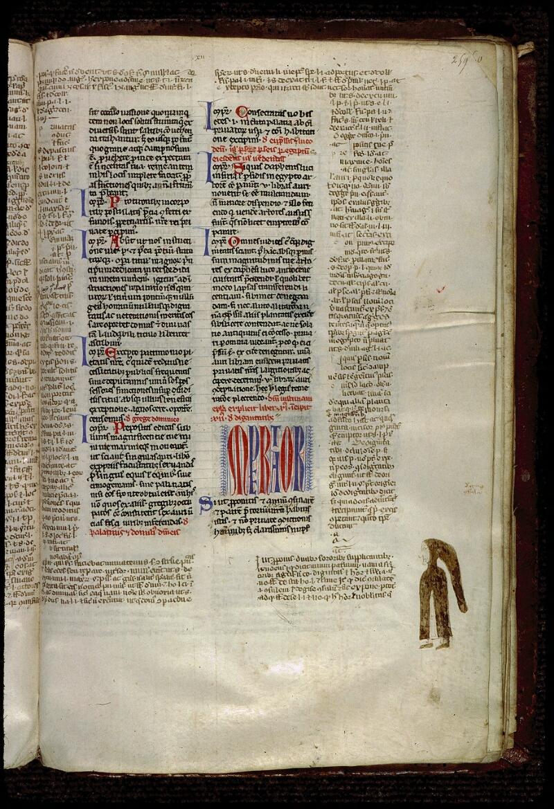 Angers, Bibl. mun., ms. 0333, f. 259 - vue 1