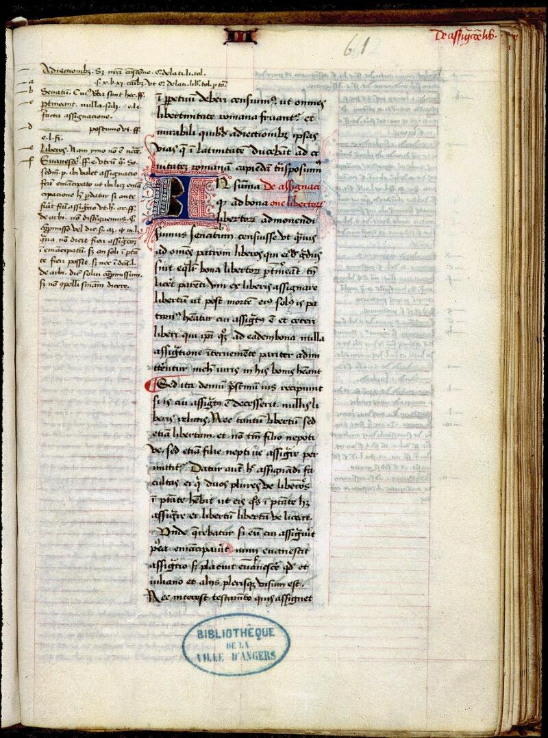 Angers, Bibl. mun., ms. 0334, f. 061