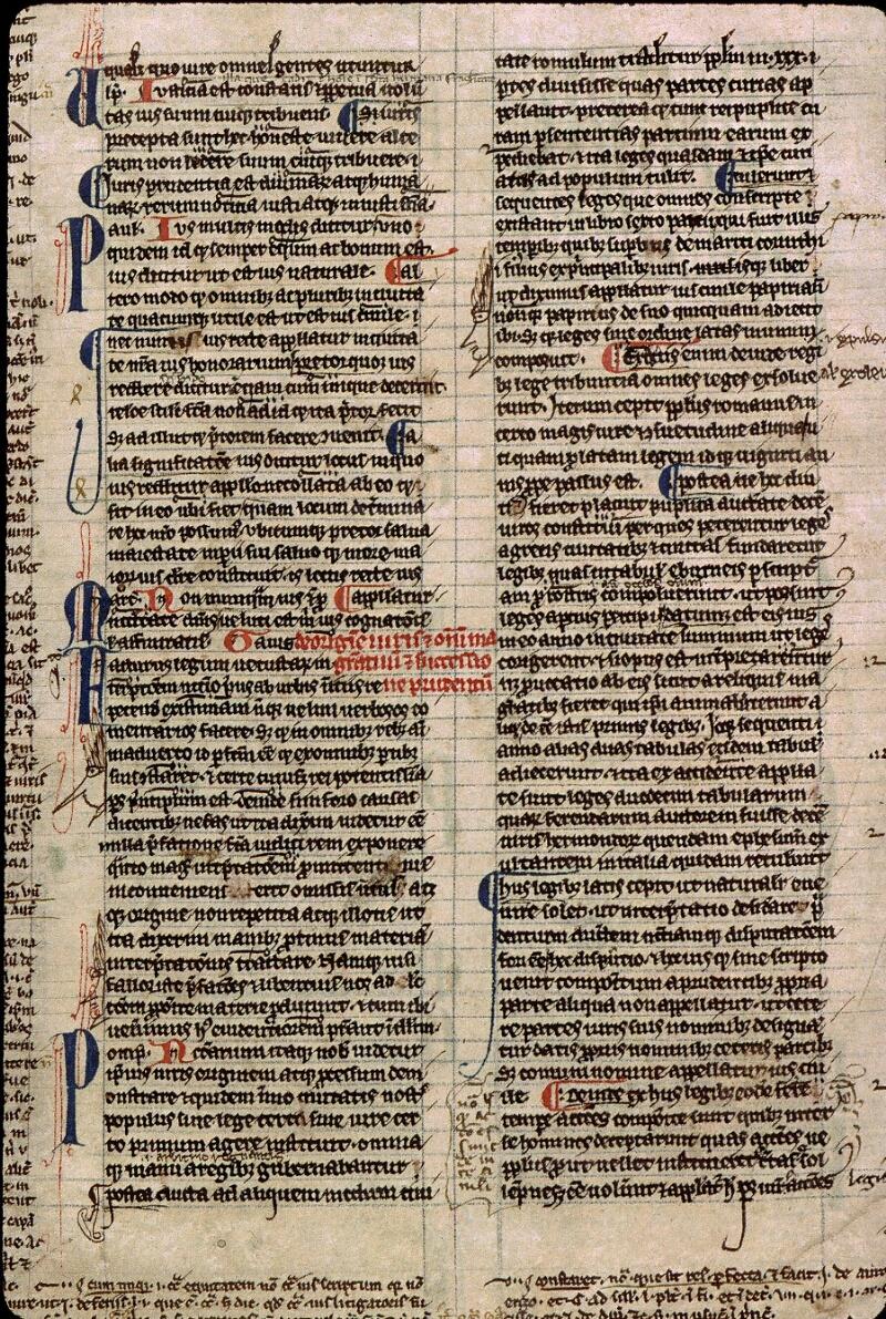 Angers, Bibl. mun., ms. 0335, f. 001v