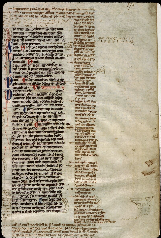 Angers, Bibl. mun., ms. 0335, f. 172
