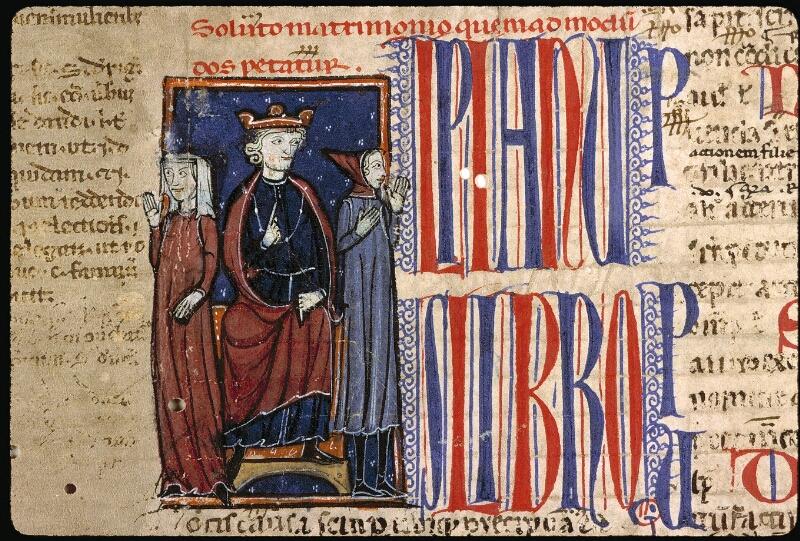 Angers, Bibl. mun., ms. 0336, f. 001 - vue 3