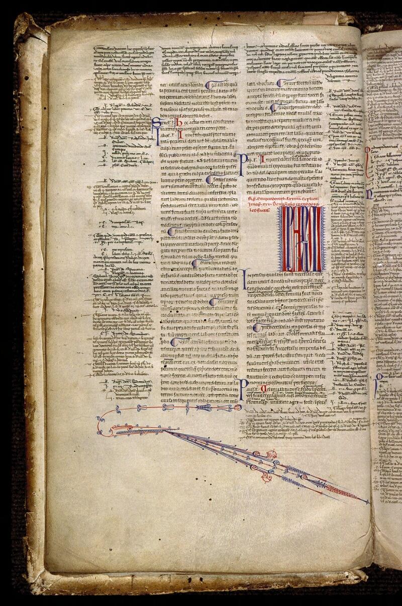 Angers, Bibl. mun., ms. 0336, f. 005v - vue 1