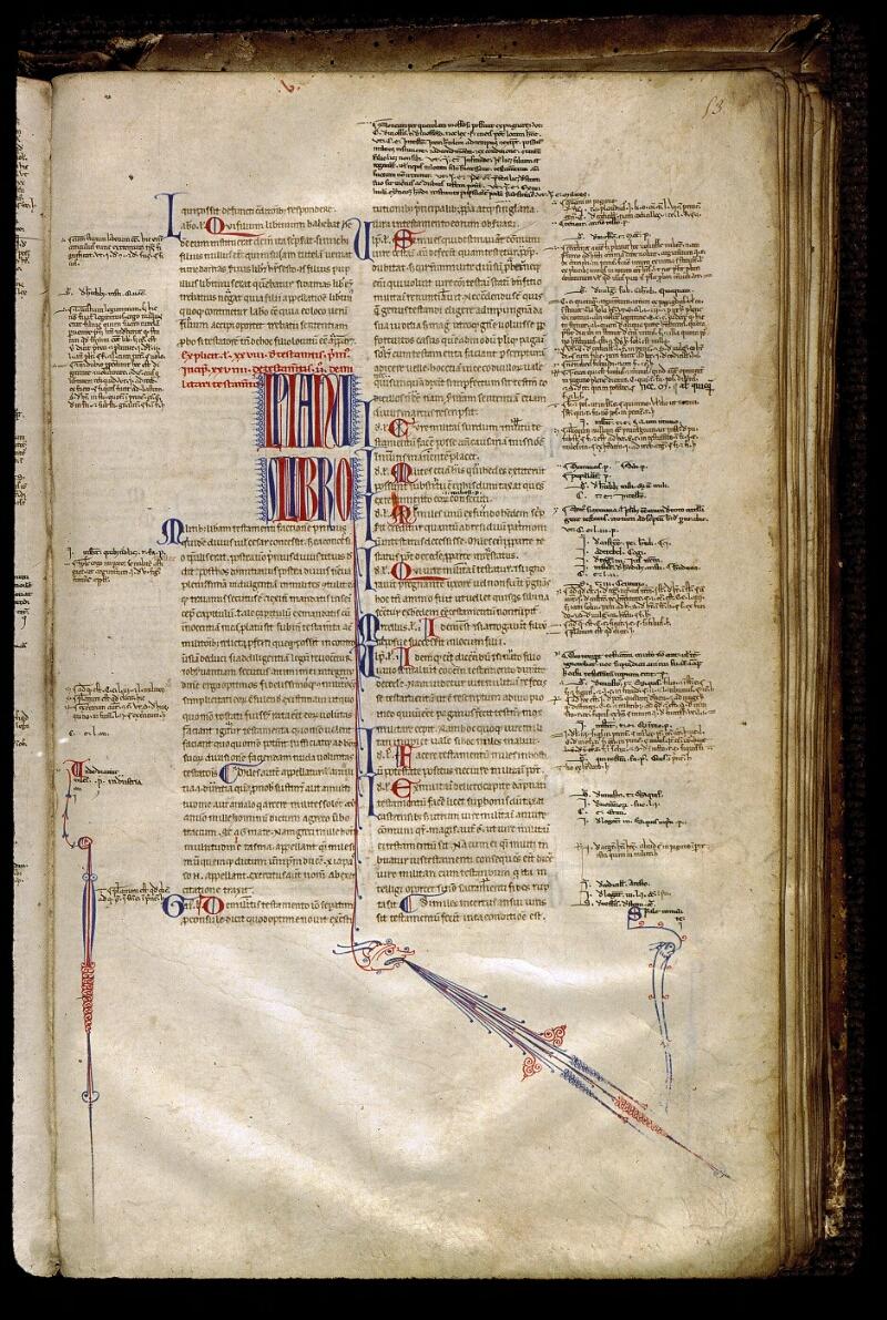 Angers, Bibl. mun., ms. 0336, f. 053 - vue 1