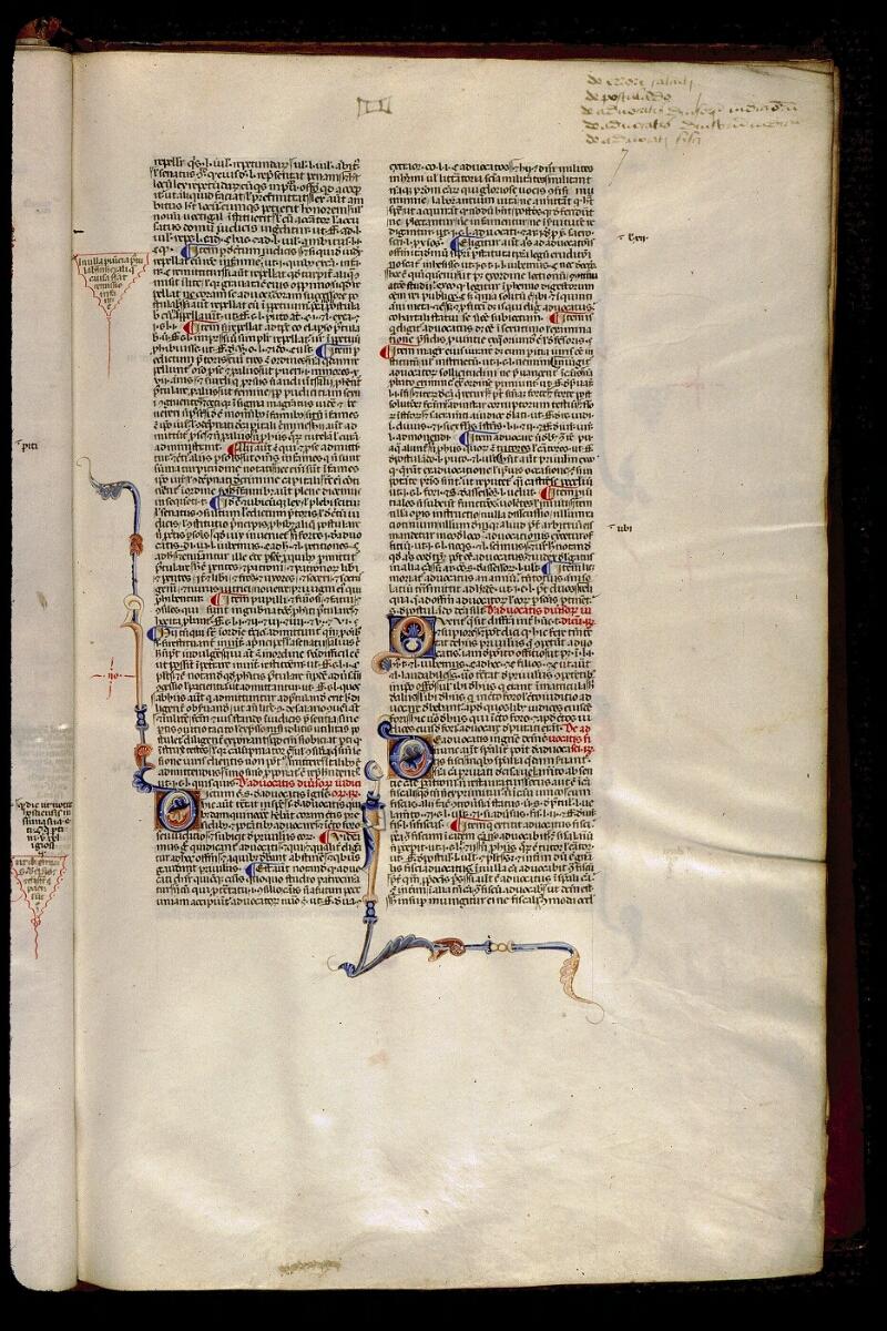 Angers, Bibl. mun., ms. 0338, f. 007 - vue 1