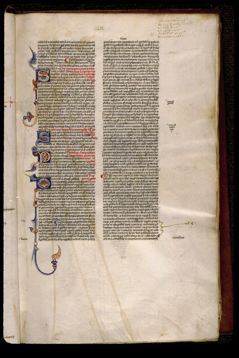 Angers, Bibl. mun., ms. 0338, f. 011 - vue 1