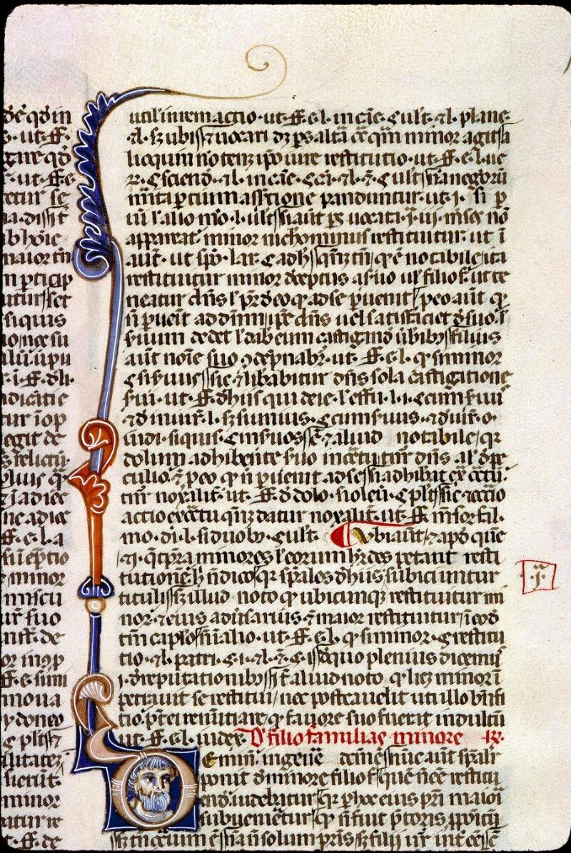 Angers, Bibl. mun., ms. 0338, f. 016 - vue 1