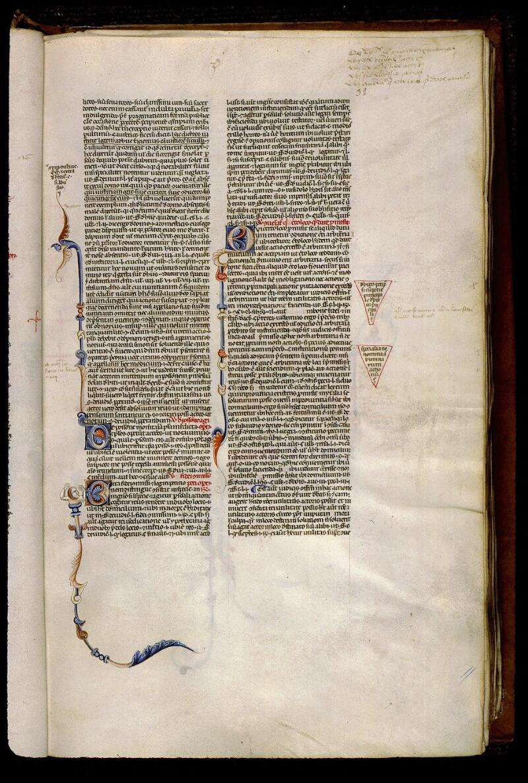 Angers, Bibl. mun., ms. 0338, f. 032 - vue 1