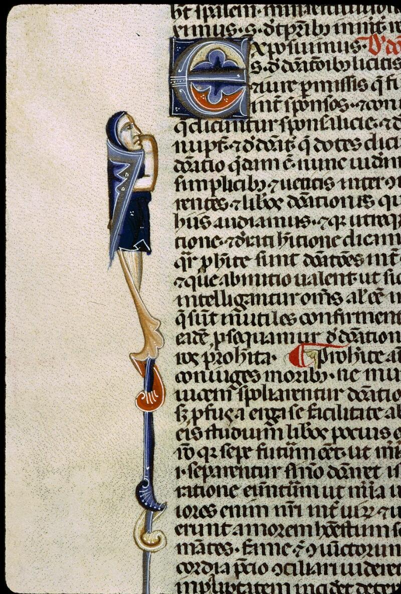 Angers, Bibl. mun., ms. 0338, f. 105v - vue 2