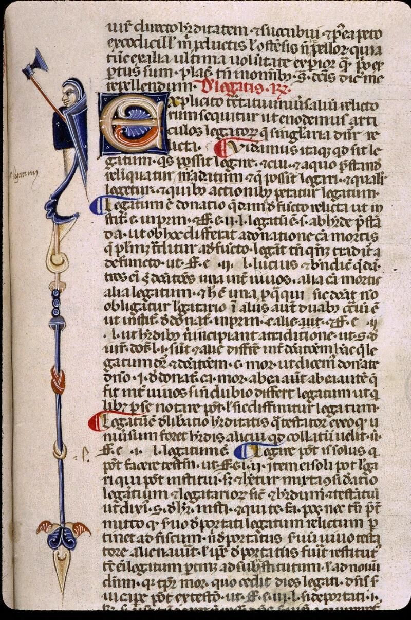 Angers, Bibl. mun., ms. 0338, f. 140 - vue 1
